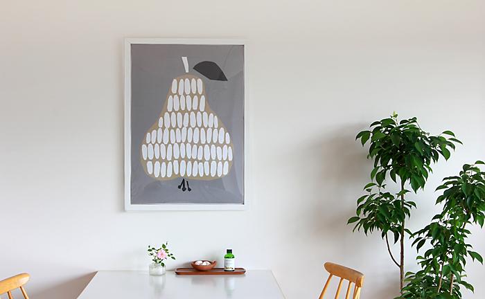 DARLING CLEMENTINE/ダーリン・クレメンタイン/ポスター(50×70cm)/ハーベスト 洋ナシ