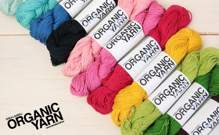 エリカラウレルのオーガニックコットン毛糸