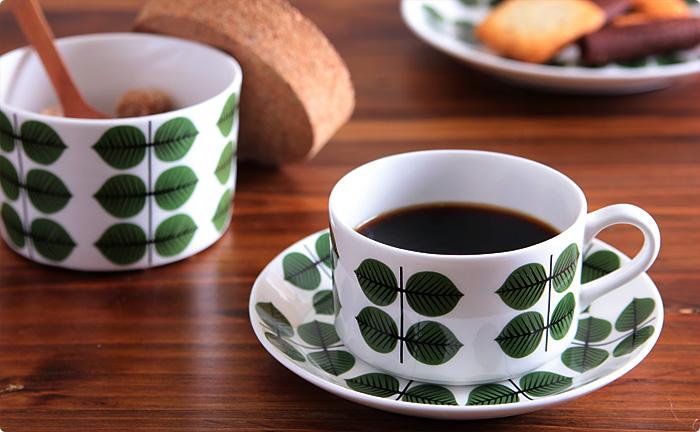 グスタフスベリ復刻版/BERSA(ベルサ)/コーヒーカップ&ソーサー