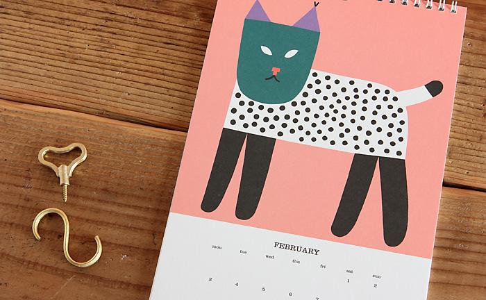 Kauniste/カウニステ/2014年ウォールカレンダー