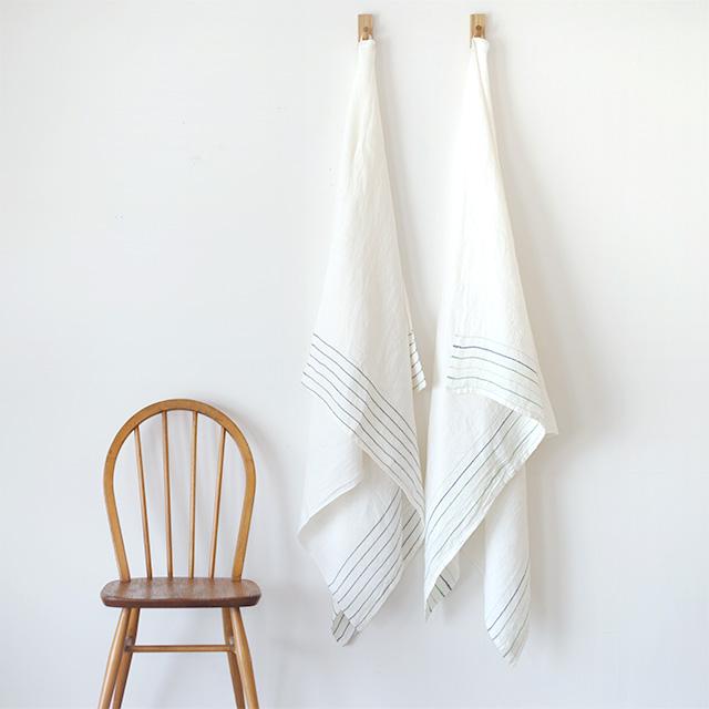 LAPUAN KANKURIT/ラプアンカンクリ/ウォッシュドリネン/マルチユースタオル(95×180cm)/KASTE(全2色)