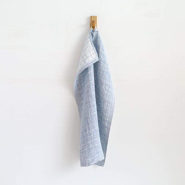 LAPUAN KANKURIT/ラプアンカンクリ/ウォッシュドリネンタオル/LASTU(ブルー)