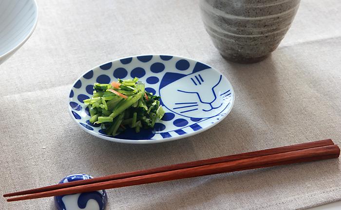 Lisa Larson/リサ・ラーソン/豆皿 ごのねこ