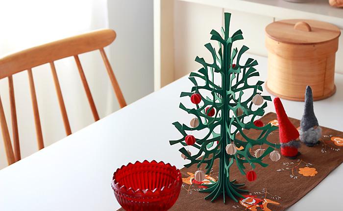 Lovi/ロヴィ/クリスマスツリー(30cm)/グリーン