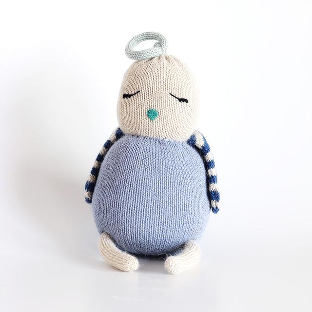 LUCKYBOYSUNDAY/ラッキーボーイサンデー/編みぐるみ/LITTLE FRIENDS/Birdie Blue