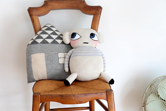 LUCKYBOYSUNDAY/ラッキーボーイサンデー/編みぐるみ/Mause Doll