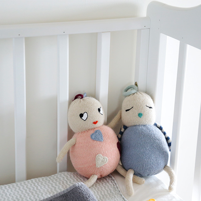 LUCKYBOYSUNDAY/ラッキーボーイサンデー/編みぐるみ/LITTLE FRIENDS/Birdie(全2色)