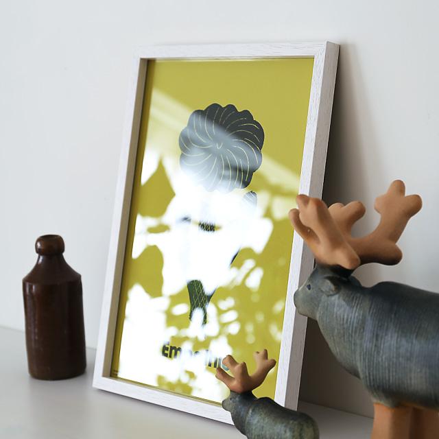 ポスターフレーム/木製/B4