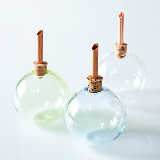 scandinaviaform/スカンジナビアフォルム/一輪挿し/Glasilium Vase(全3色)