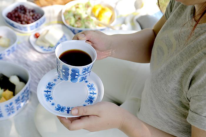 【復刻版】スティグ・リンドベリ/BLUES/カップ&ソーサー