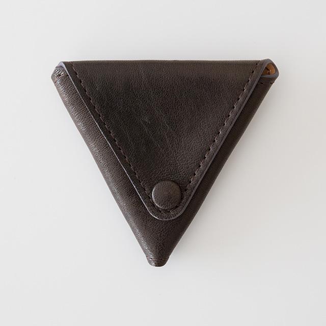 TIRONE/コインケース[ラム革×ヌメ革](ブラウン)