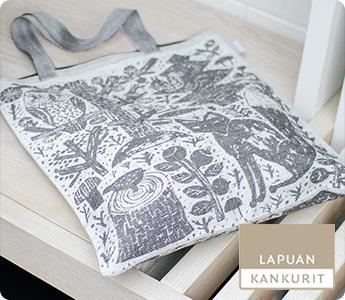 LAPUAN KANKURIT/ラプアンカンクリ/リネントートバッグ/METSIKKO(全2色)