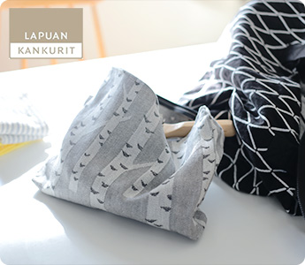 LAPUAN KANKURIT/ラプアンカンクリ/トートバッグとポーチ