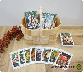 METSAKUSTANNUS/メッツァクスタンヌス/森のきのこトランプ