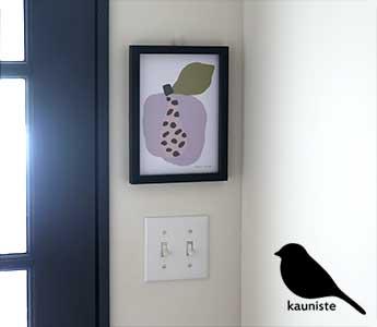 Kauniste/カウニステ/ポスター/Tutti Frutti/トゥッティフルッティ