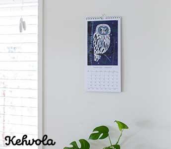 Kehvola Design/ケフボラ・デザイン/2021年カレンダー