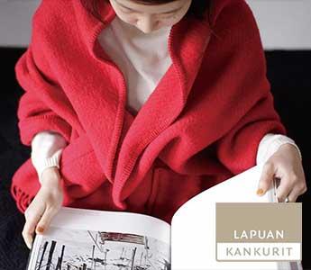 LAPUAN KANKURIT/ラプアンカンクリ/ショール/UNI
