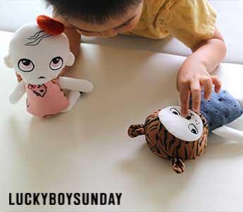 LUCKYBOYSUNDAY/ラッキーボーイサンデー/ぬいぐるみ(編みぐるみ)