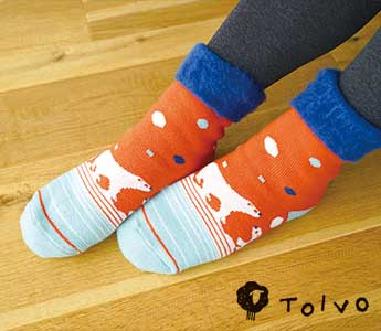 TOIVO(トイヴォ)/もこもこソックス