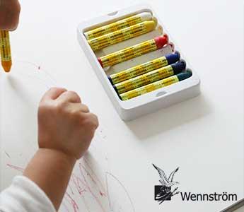 Wennstrom/ウェンストロム/みつろうクレヨン