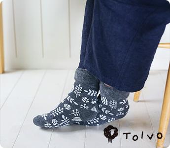 TOIVO MOKOMOKO SUKKA/もこもこソックス