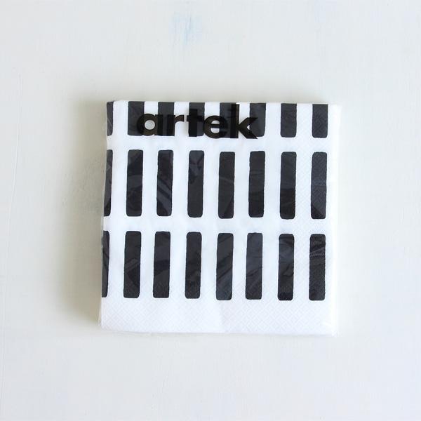 Artek/アルテック/ペーパーナプキン(L)/SIENA/ブラック