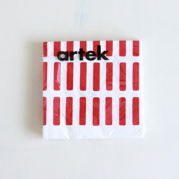 Artek/アルテック/ペーパーナプキン(L)/SIENA/レッド