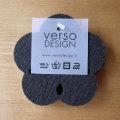 Verso Design/Kukka/コースター/ダークグレー
