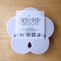 Verso Design/Kukka/コースター/ライトグレー