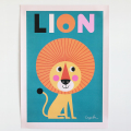 OMM-design/インゲラ・アリアニウス/ポスター(50×70cm)/ライオン