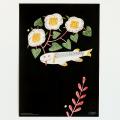 鹿児島 睦/ZUAN & ZOKEI/図案ポスター(B3)/1 FISH