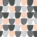 Kauniste/カウニステ/ファブリック(幅75cm×長さ50cm単位で切り売り)/Sokeri(ピンク)