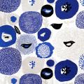 Kauniste/カウニステ/ファブリック(幅75cm×長さ50cm単位で切り売り)/Sunnuntai(ブルー)