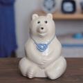 【数量限定】しろくま貯金箱(2019年 水引付き) Polar Bear Money Box